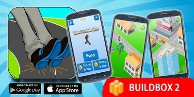 Run Bartolo Run - Buildbox Game Template