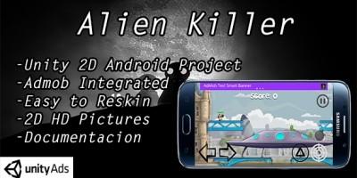 Alien Killer - Unity Game Source Code