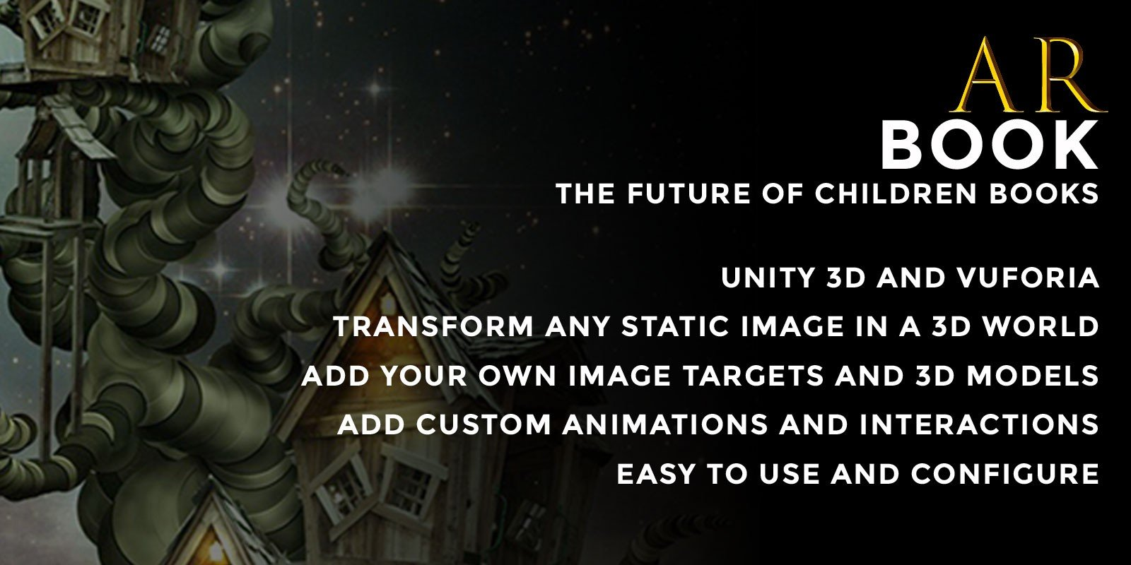 ARBook - Augmented Reality Interactive Book Unity