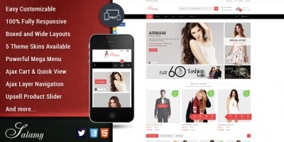 SM Salamy - Magento Fashion Theme