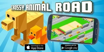 Crossy Animal Road - Buildbox Game Template