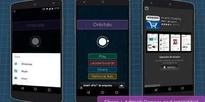 Orbitals - Android Game Source Code