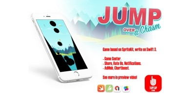 Jump Over a Chasm - iOS Source Code