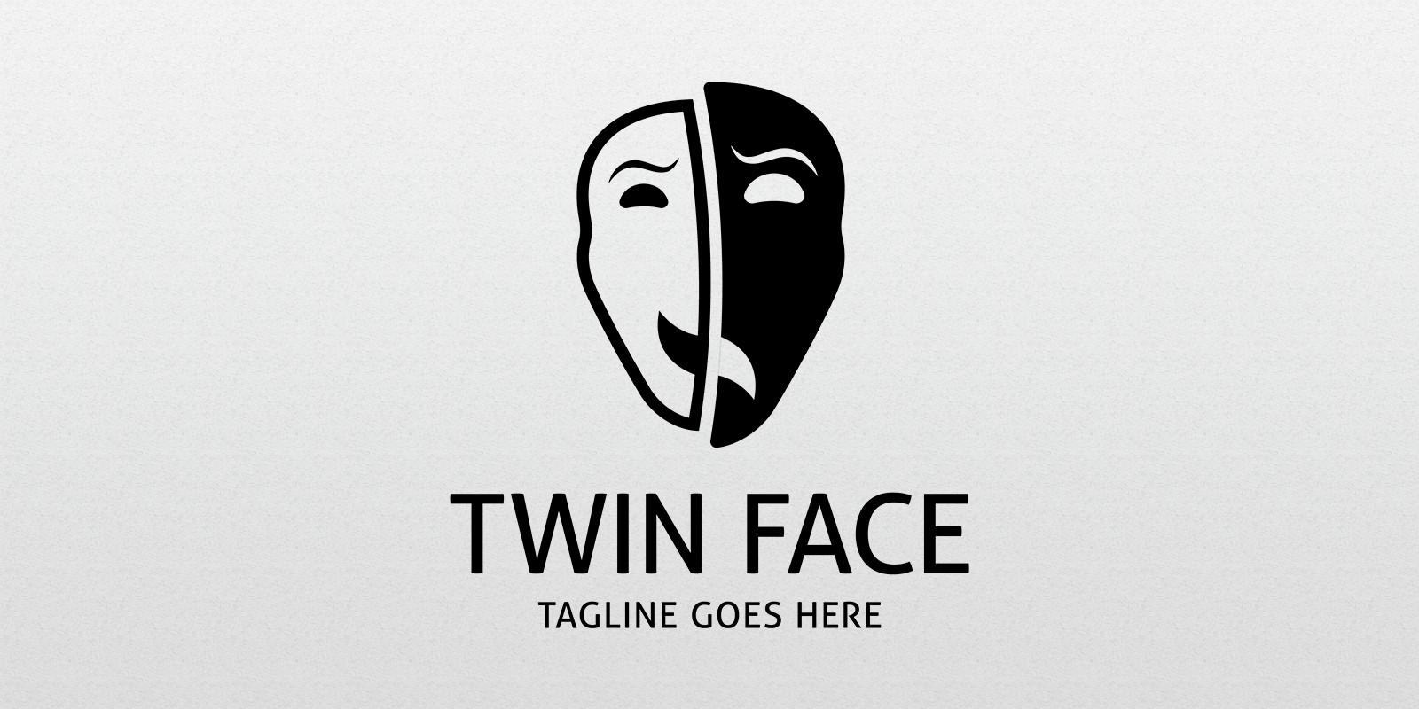 Twin Face - Logo Template