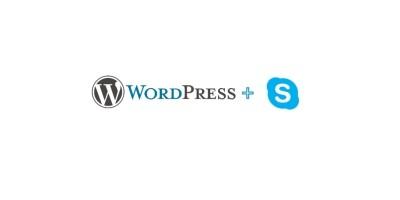 Skype Button WordPress Widget