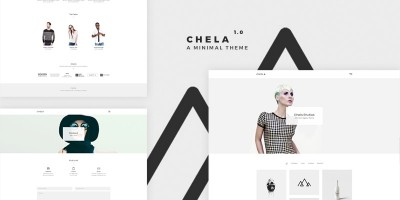 Chela - Minimal WordPress Theme