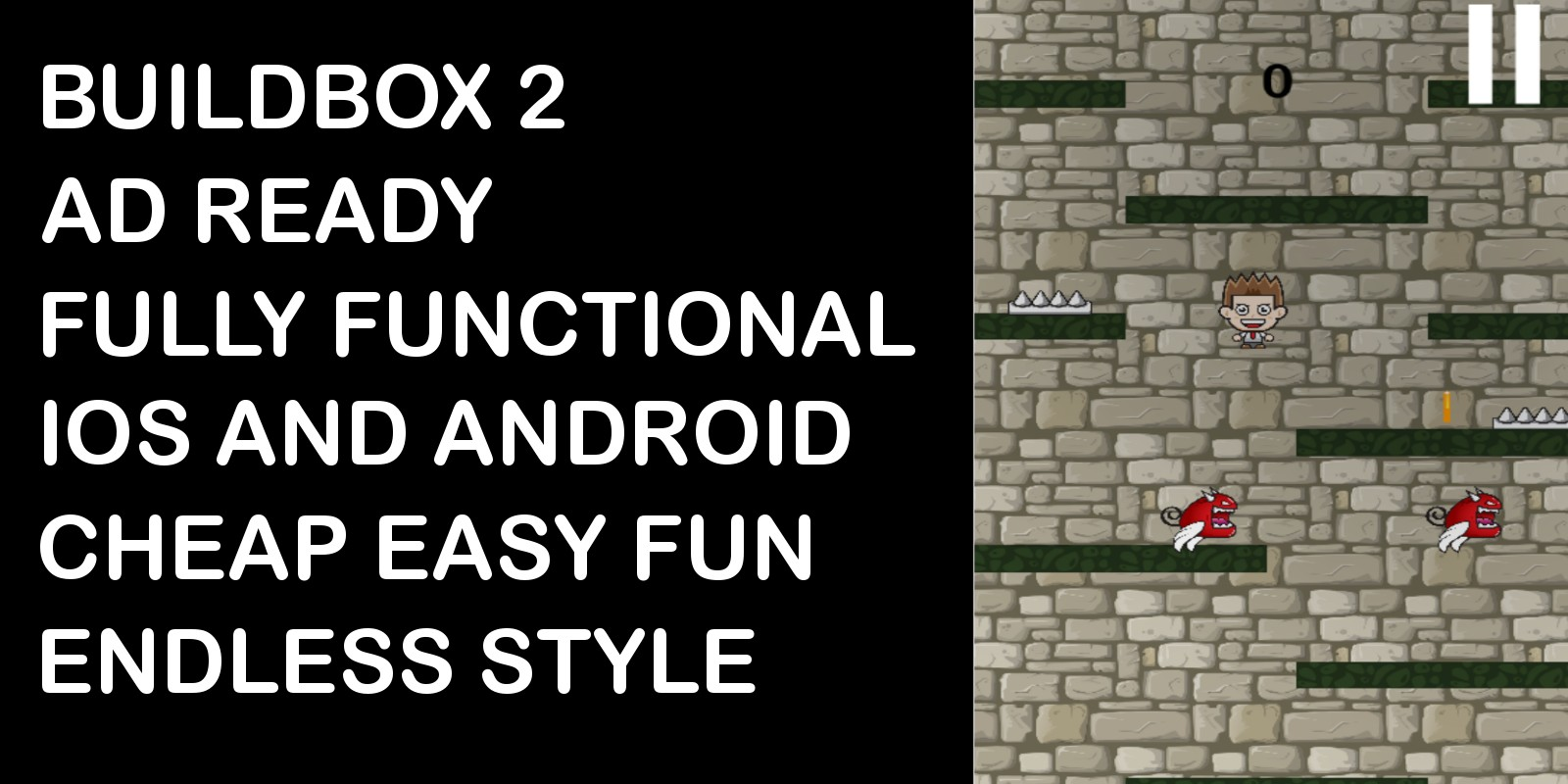 Dungeon Drop Buildbox Game Template