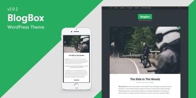 BlogBox - Bold WordPress Theme