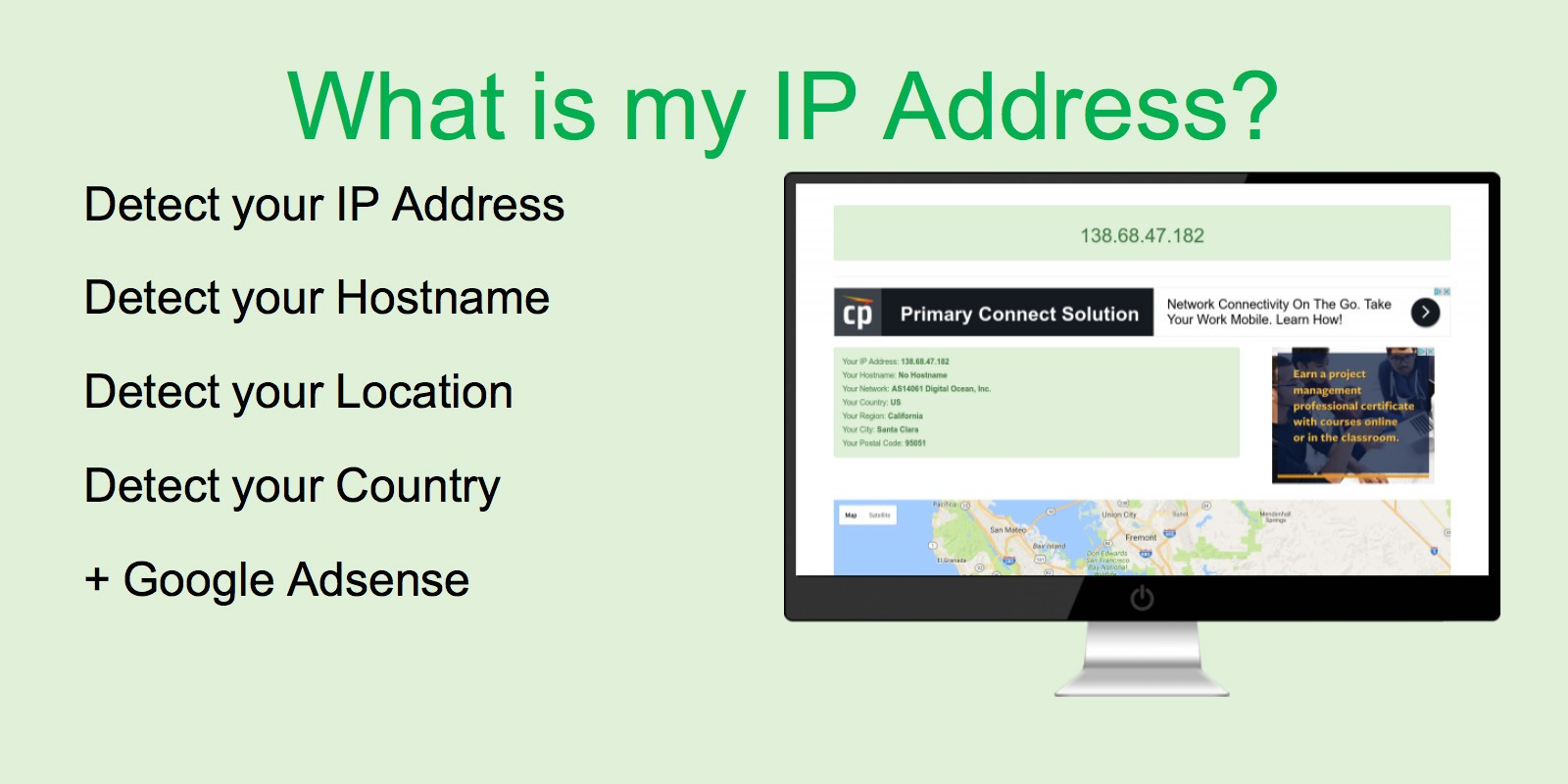 What Is My IP Address Script