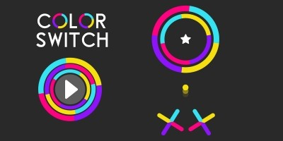Color Switch - Buildbox Game Template