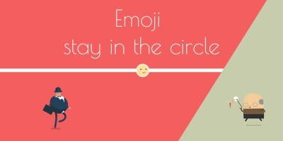 Emoji Stay in Circle - Construct 2 Game Template