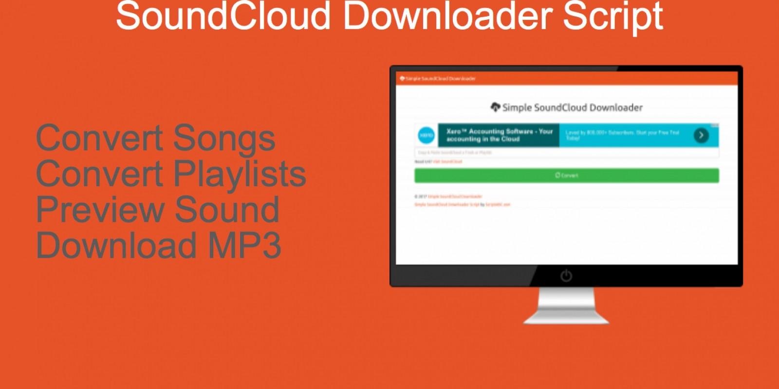 soundcloud downloader script php multimedia scripts codester
