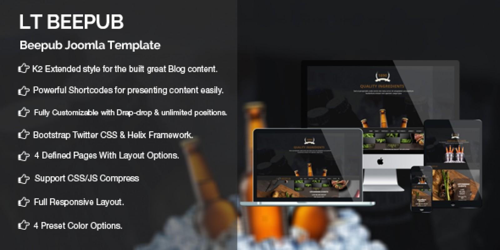 LT BeePub – Premium Joomla Template