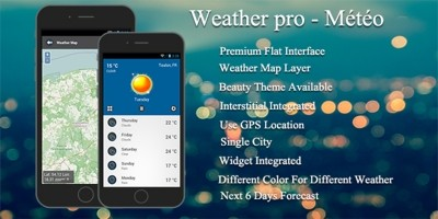 Weather Pro - Android Weather App Source Code
