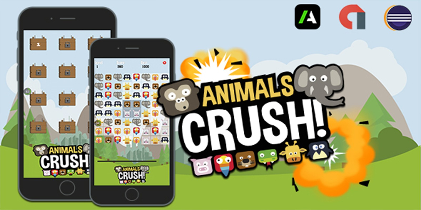 Animals Crush - Android Source Code
