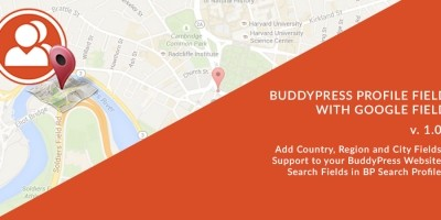 BuddyPress Location Field Plugin