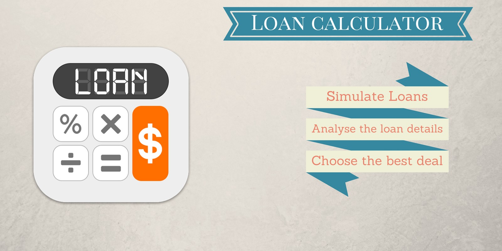 Loan Calculator - Android App Template - Finance App Templates For ...