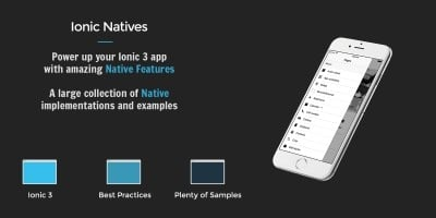 Ionic 3 Natives Professional Edition