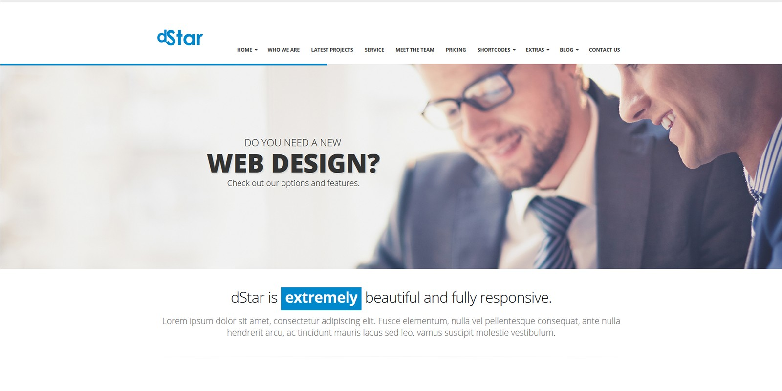 Dstar premium html5 business template business html website dstar premium html5 business template accmission Gallery