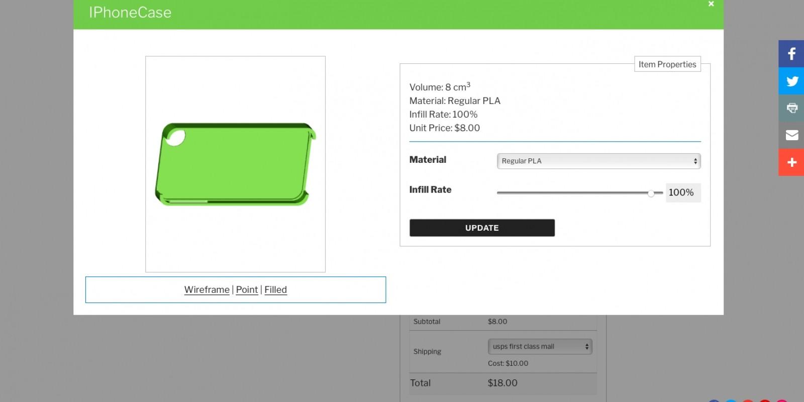 3D Printing Quote Calculator WordPress Plugin