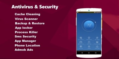 Android Antivirus And Security App Source Code