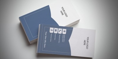 Bookmark Business Card Template