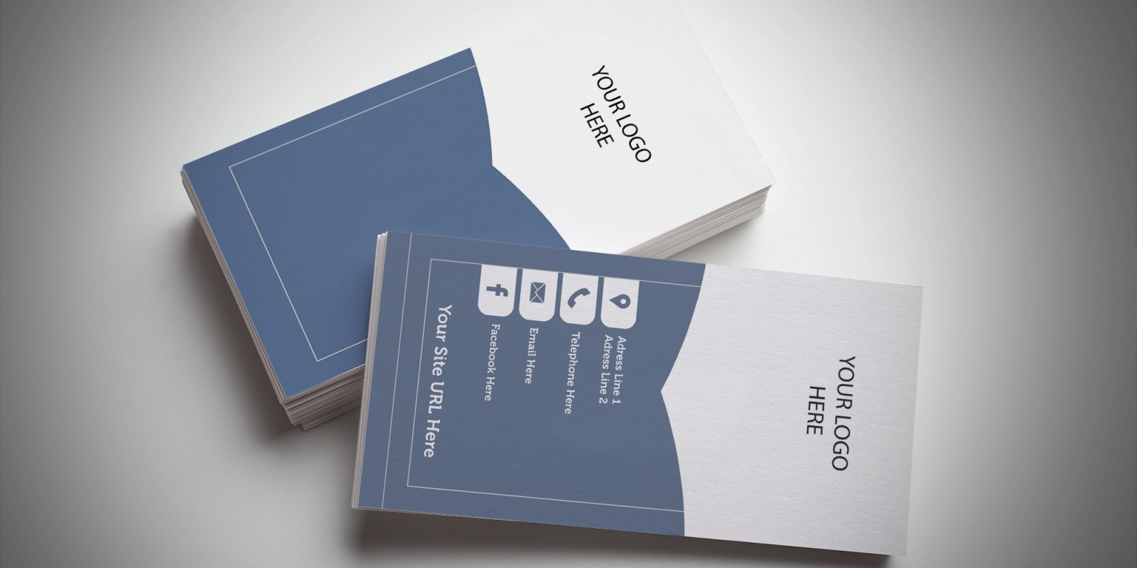 Bookmark Business Card Template - Business Card Templates | Codester
