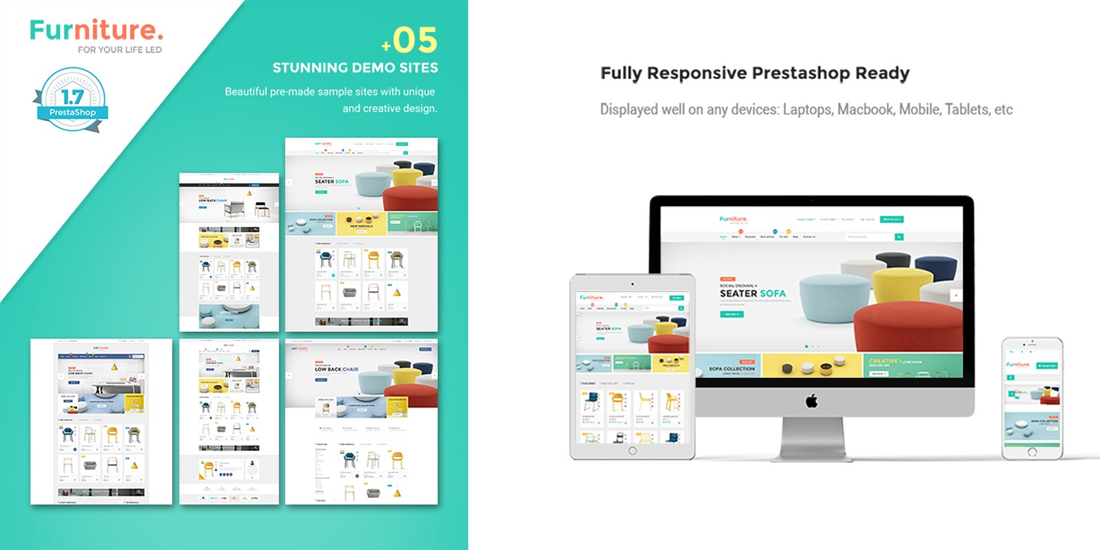 Pts Furniture PrestaShop Theme