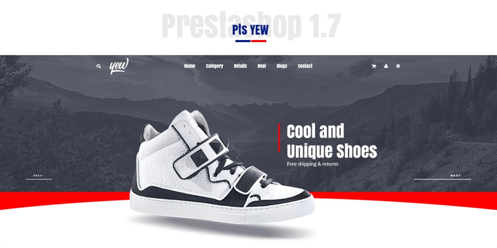 Pts Yew PrestaShop Fashion Theme