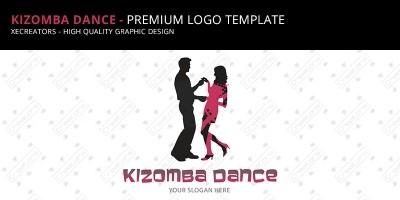 Kizomba Dance - Logo Template