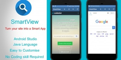 SmartView - Webview App Template For Android