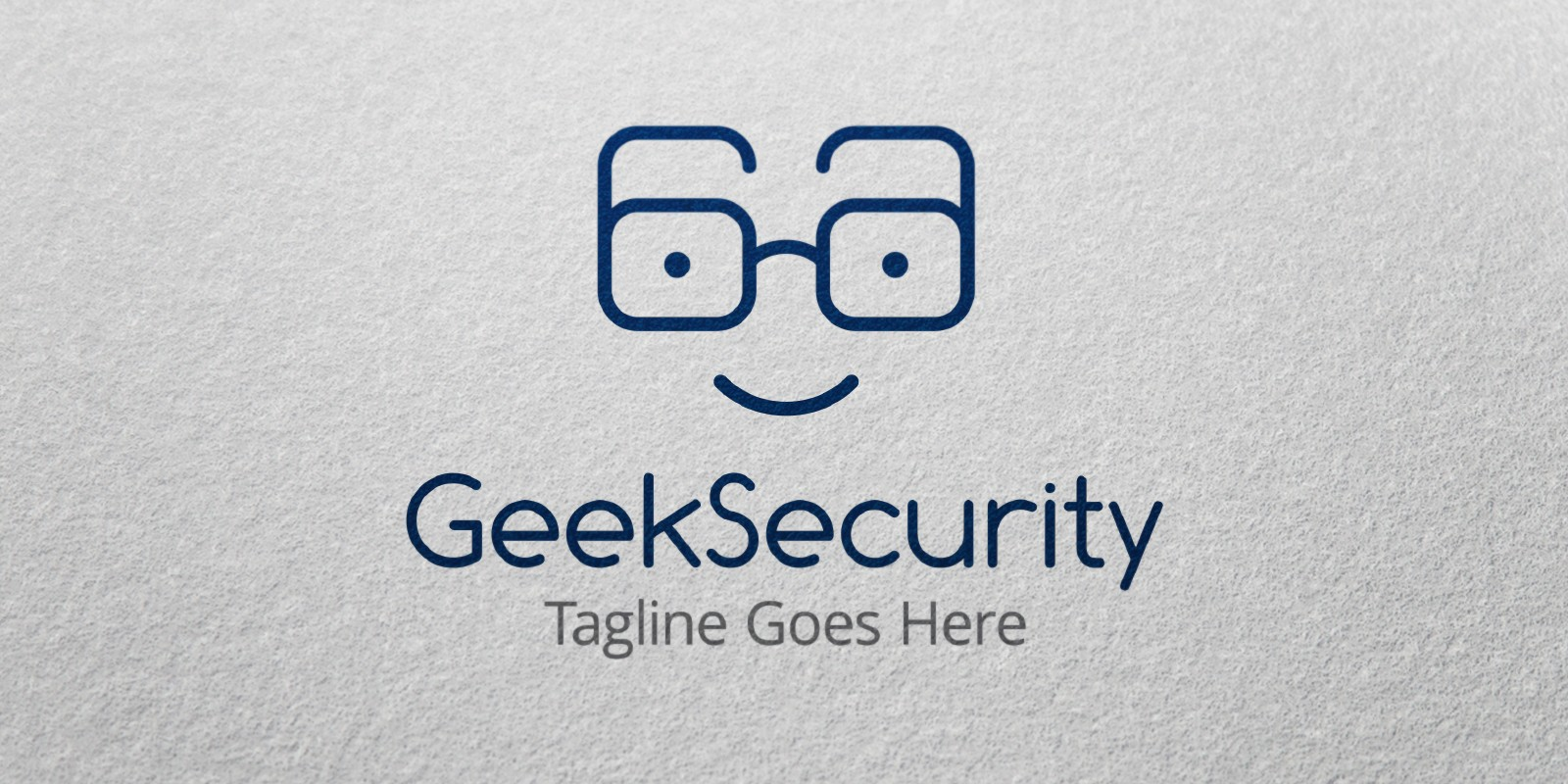 Geek Security Logo Template