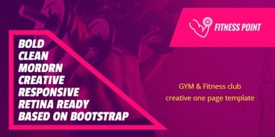 Fitness Point - Gym And Fitness HTML Template