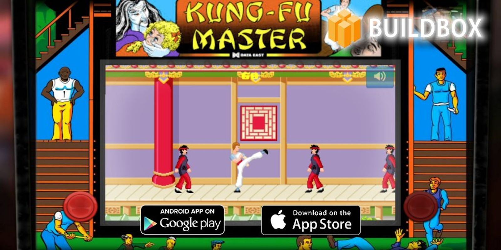 Kung-Fu Master Tribute - Buildbox Game Template