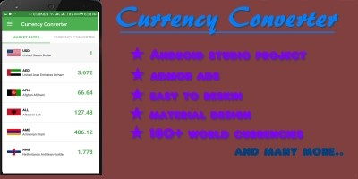 Currency Converter - Android App Template