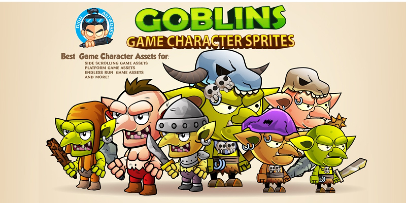 Goblins Game Character Sprites