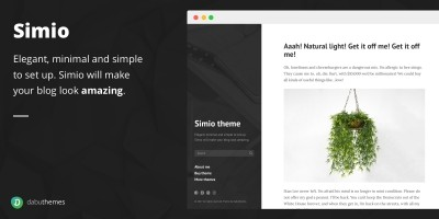Simio - Premium Tumblr Theme