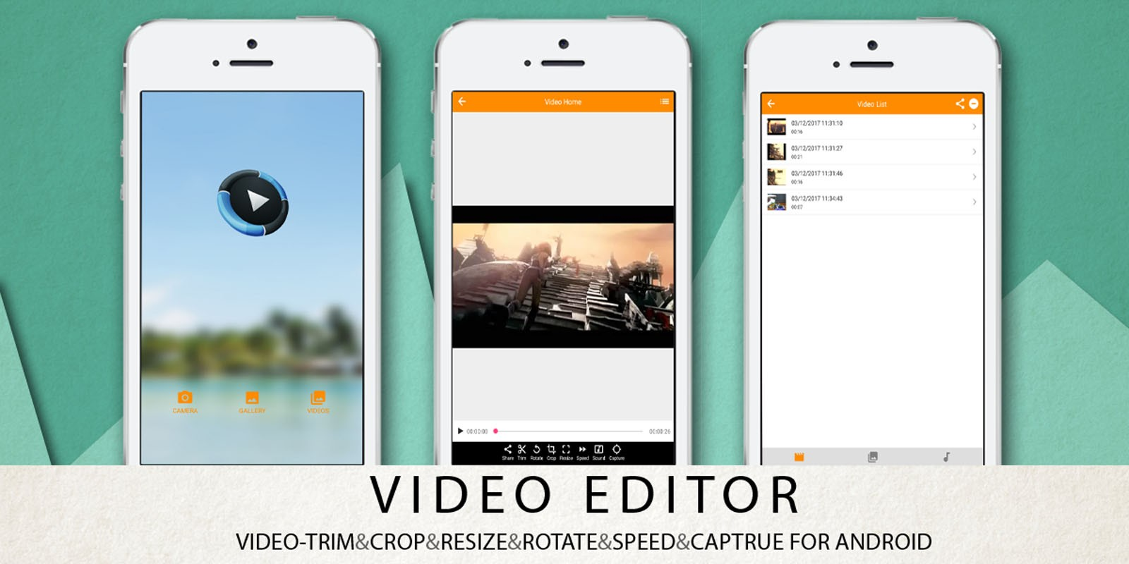 Video Editor Android App Source Code - Android App Templates ...