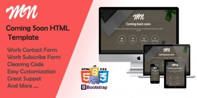 MN - Coming Soon HTML Template