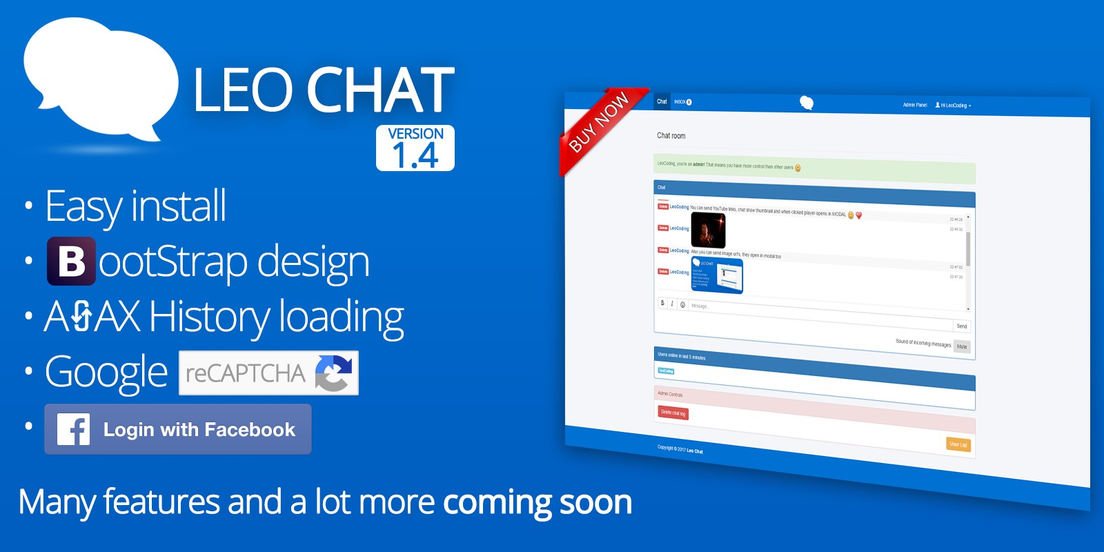 Leo Chat - PHP AJAX Chat Script