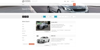 uAutoDealers - Auto Classifieds And Dealers Script