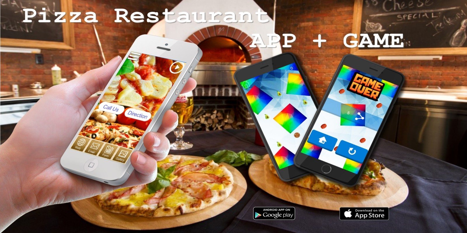 Pizza Restaurant  App And Game