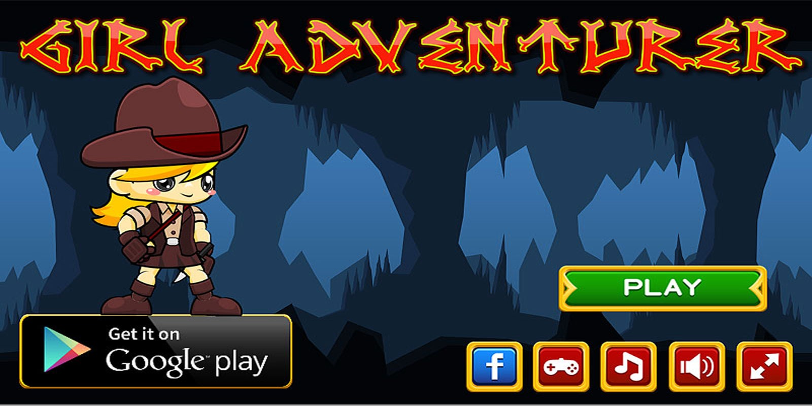 Girl Adventurer - Contruct Game Template
