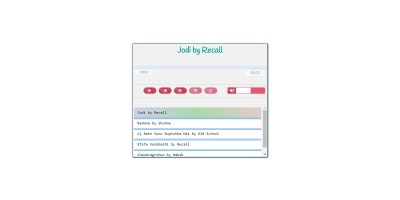 AA Audio Player - Javascript jQuery Audio Player