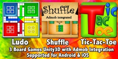 3 Games Bundle Unity3D Project With Admob