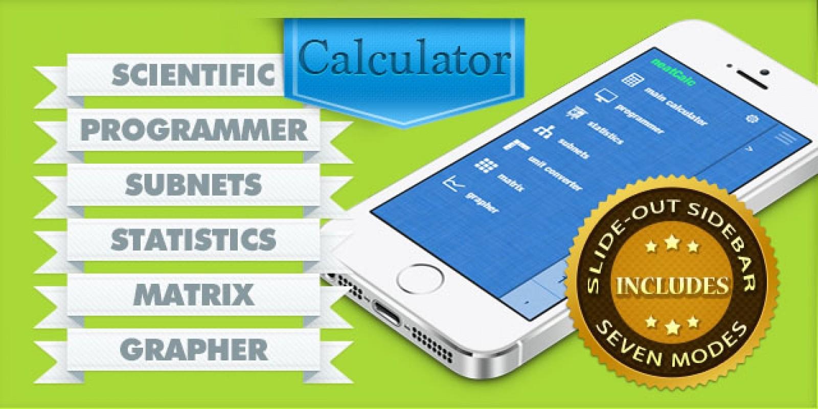 Multifunction Calculator - iOS App Source Code