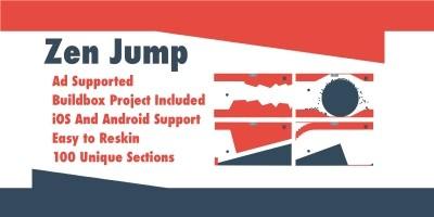 Zen Jump - Buildbox Game Template