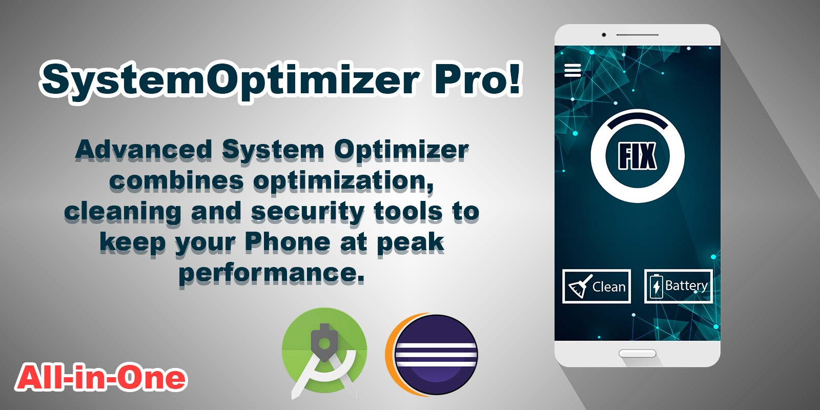 SystemOptimizer Pro Android App Template