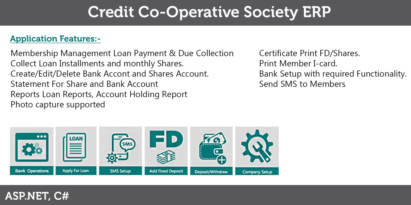 Credit Co-Operative Banking Application
