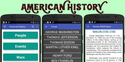 American History App Android Source Code